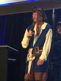 Eddie as pirate publisher